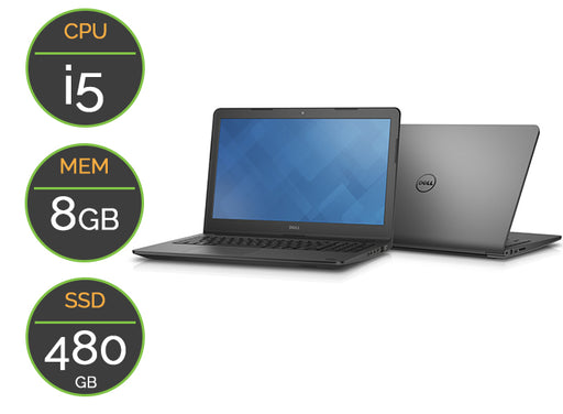 PC portable Occasion DELL E3550 SSD 480GB