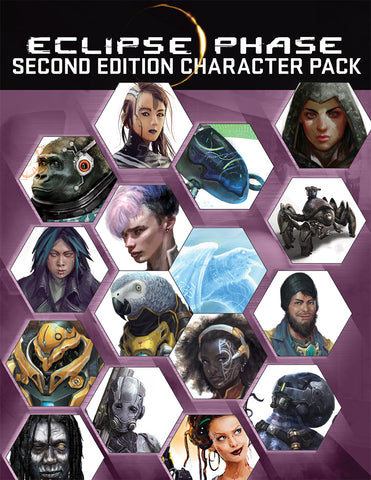 Eclipse Phase Second Edition Character Pack
