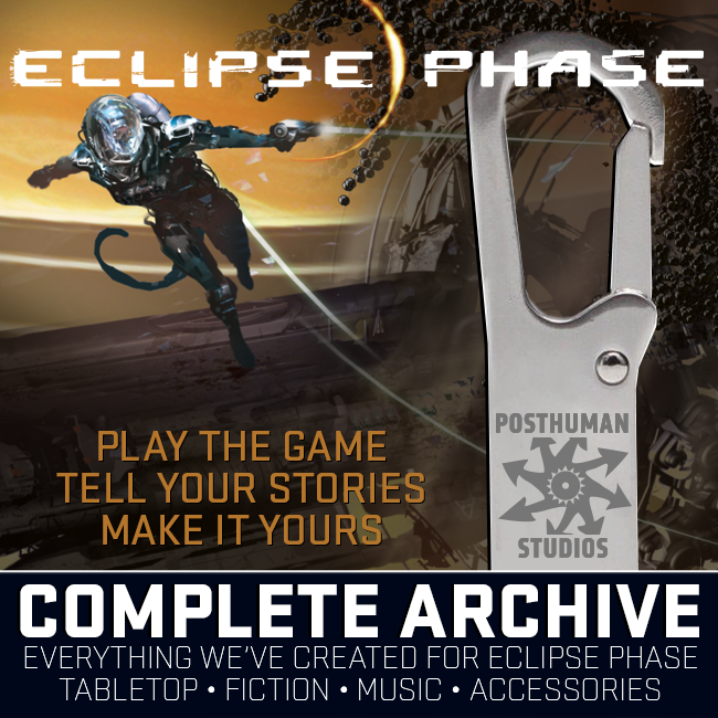 Eclipse Phase Complete: USB Digital Archive