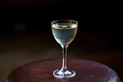 Twisted Nose Watercress Martini