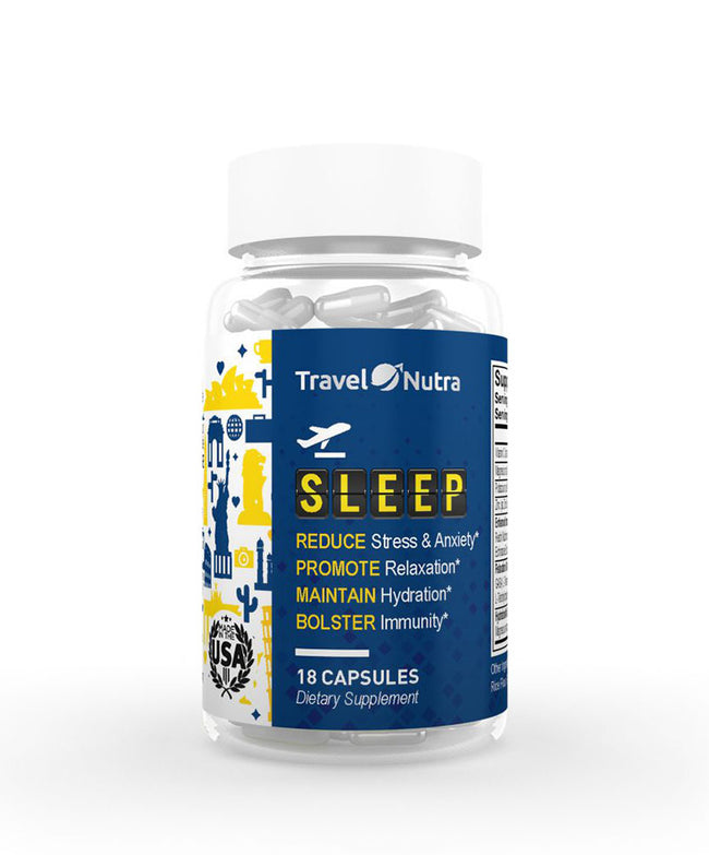 TravelNutra Sleep Dietary Supplement