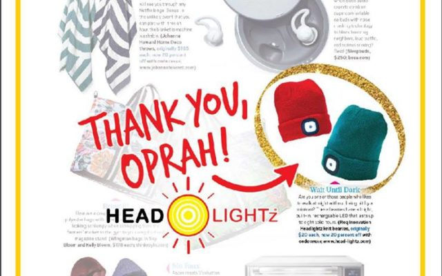 Oprah Magazine - The O List Features Headlightz