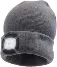 Load image into Gallery viewer, Headlightz® Beanie - Knit - Grey