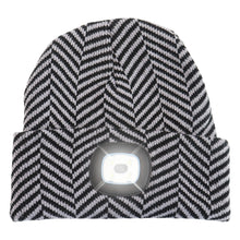 Load image into Gallery viewer, Headlightz® Beanie - Knit - Herringbone