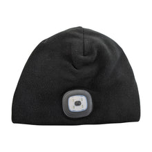 Load image into Gallery viewer, Headlightz® Beanie - Fleece - Black