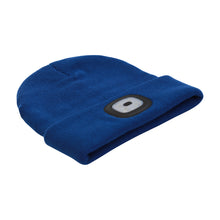Load image into Gallery viewer, Headlightz® Beanie - Knit - Galaxy Blue