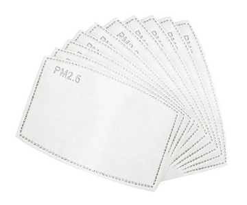5-Layer Mask Filters (20 Pcs)