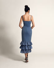 Load image into Gallery viewer, Tiered pencil dress