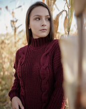 Load image into Gallery viewer, Cable Knit Sweater
