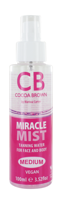 Miracle Mist Tanning Water for Face & Body- Medium