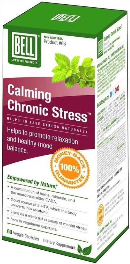BELL Calming Chronic Stress  (60 caps)