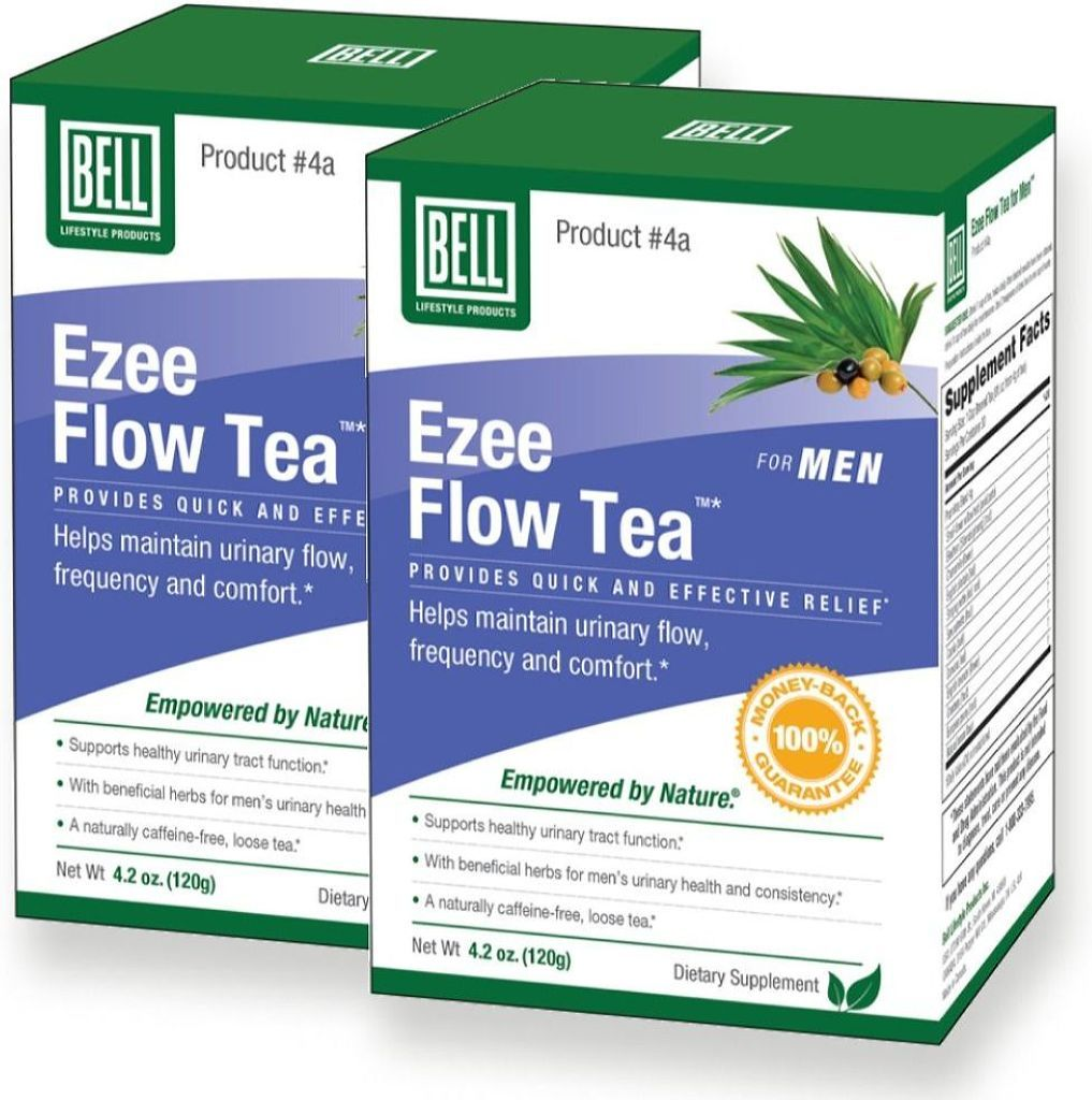 BELL Prostate EZEE Flow Tea  (120 gr) 2-Pack
