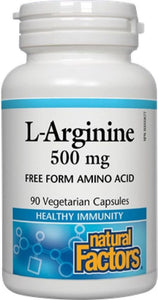NATURAL FACTORS L-Arginine (500 mg - 90 caps )