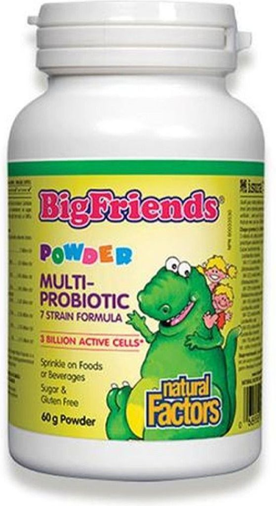 NATURAL FACTORS Big Friends Probiotic (Powder -  60 gr)