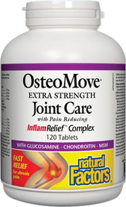 NATURAL FACTORS OsteoMove® Extra Strength Joint Care (120 Tabs)
