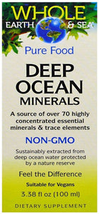 WHOLE EARTH & SEA Deep Ocean Minerals (100 ml)