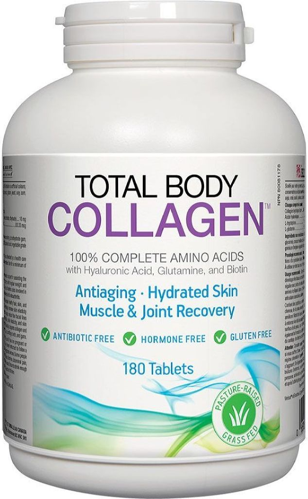 NATURAL FACTORS Total Body Collagen ( 180 Tabs )