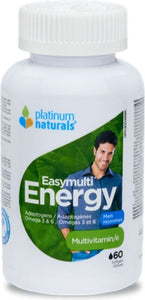 PLATINUM Easymulti Energy For Men  (60 Softgels)