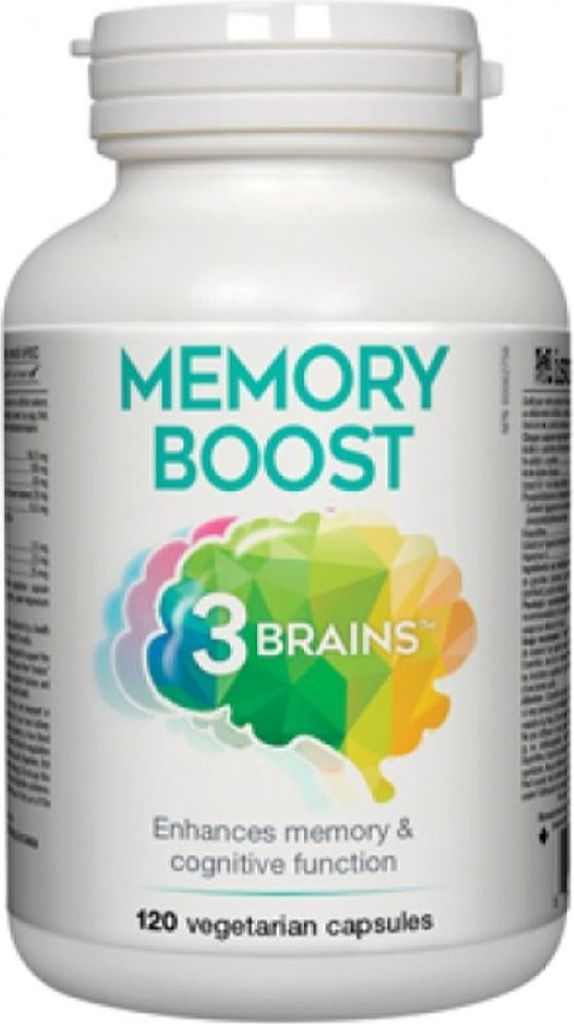 3 BRAINS Memory Boost (120 Veg Caps)