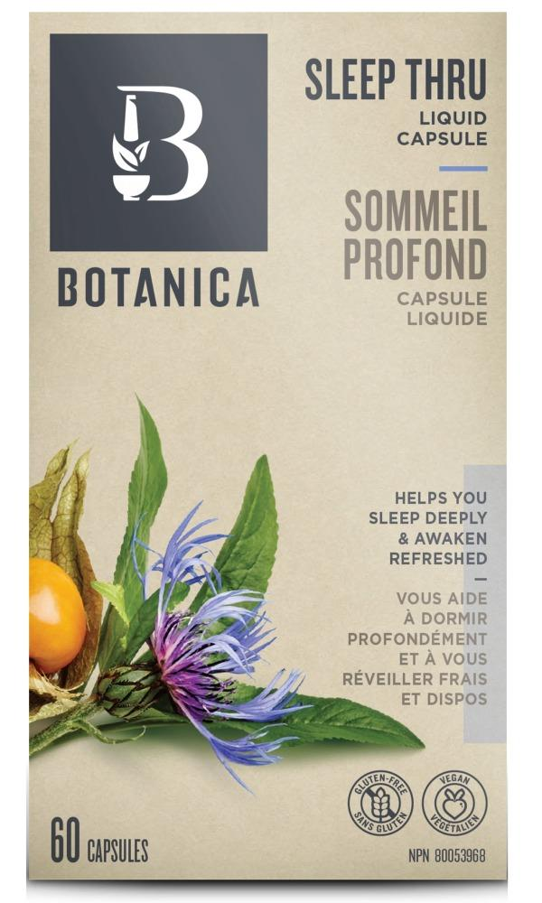 BOTANICA Sleep Thru (60 caps)