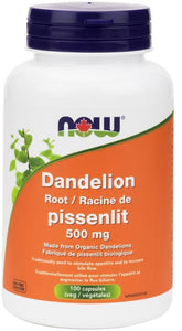 NOW Dandilion Root (500 mg - 100 caps)