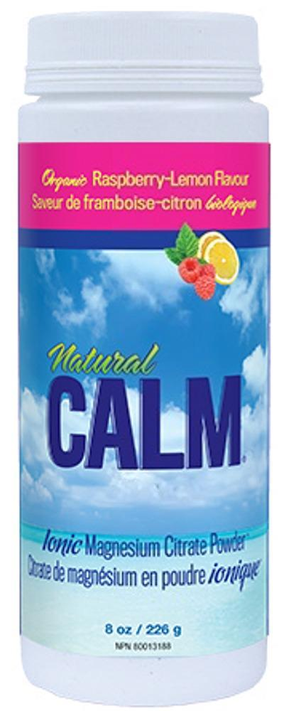 NATURAL CALM Magnesuim + Calcium (Raspberry Lemon -  226 gr )