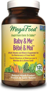 MEGAFOOD Baby & Me Daily (120 tabs)