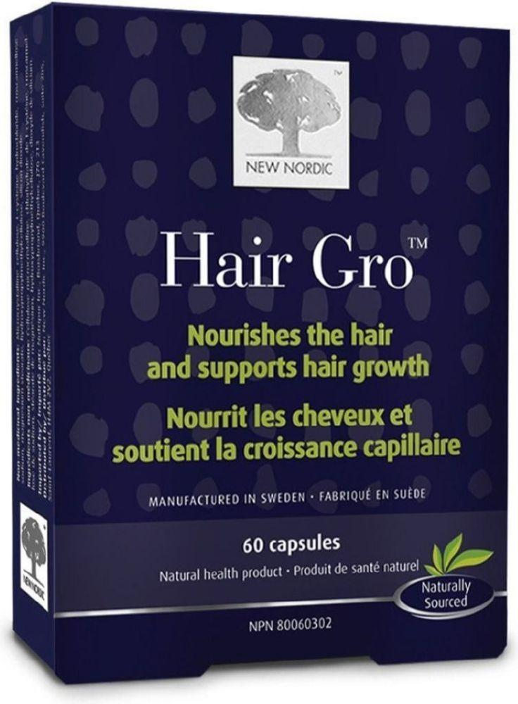 NEW NORDIC Hair Gro (60 caps)
