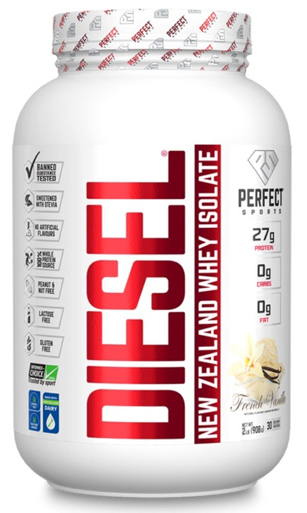 DIESEL New Zealland Whey Isolate (French Vanilla - 908 gr)