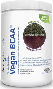 ALORA NATURALS Vegan BCAA (Green Tea Passion Fruit - 285 gr)