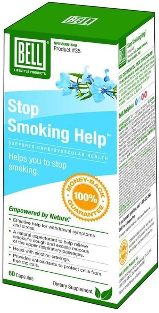 BELL Stop Smoking Help (60 Caps)