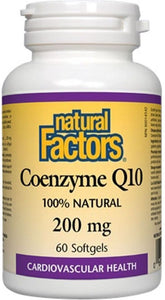 NATURAL FACTORS CO Q10  (200mg - 60 sgels)