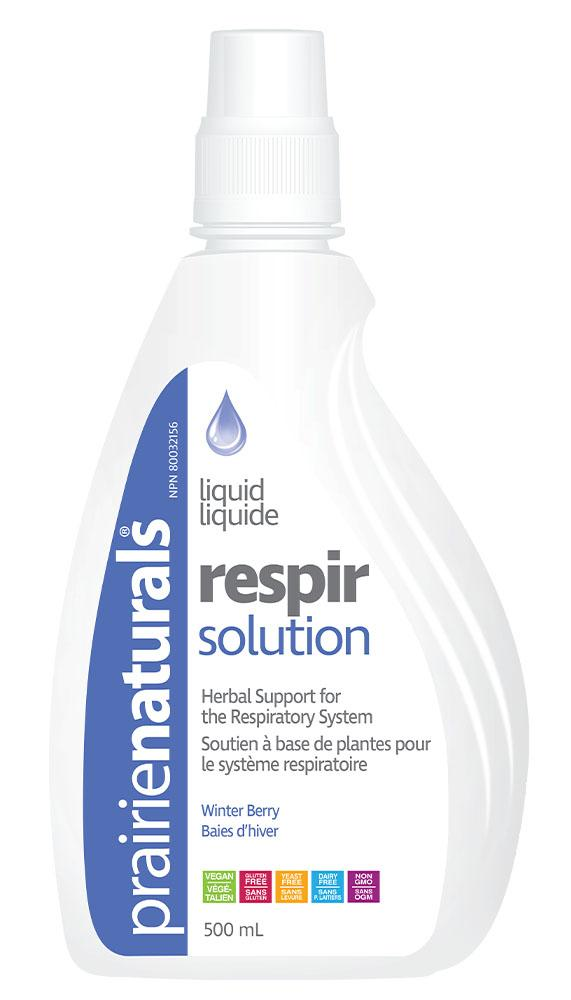PRAIRIE NATURALS Respir Solution (500ml)