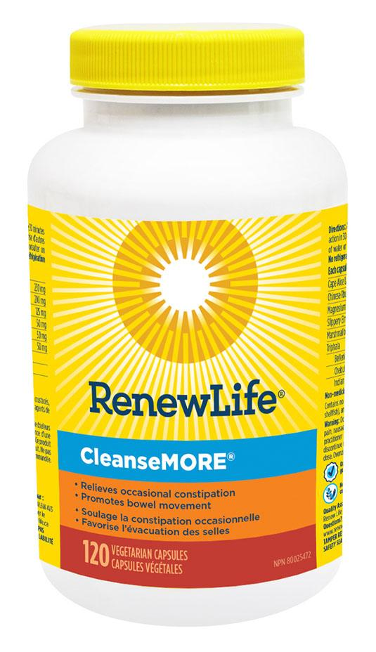 RENEW LIFE CleanseMore (120 caps)