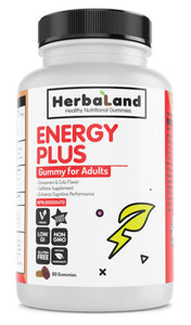 HERBALAND Energy Plus for Adults (Cinnamon Cola - 80 GUMMIES)