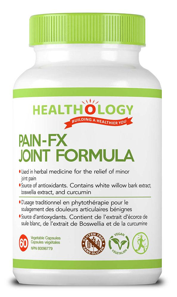 HEALTHOLOGY Pain FX Joint Formula  (60 veg caps)