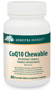 Genestra CoQ10 Chewable (60 V-Caps)