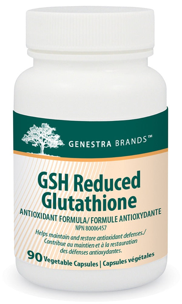 Genestra GSH Reduced Glutathione (90 V-Caps)