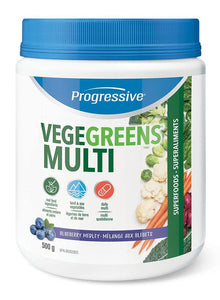 PROGRESSIVE VegeGreens Multi (Blueberry - 500 Gr)