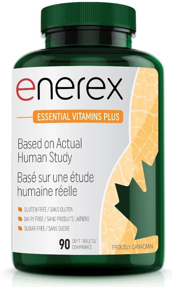 ENEREX ESSENTIAL VITAMINS PLUS (SONA MULTI - 90 Tabs)  (180 Caps)
