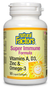 NATURAL FACTORS Super Immune Formula (90 sgels)
