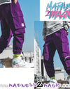 Purple Cargo 'Likka' Jogger M2M Pants - Madness 2 Magic -Bottoms