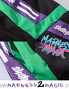 Green/Purple 'Grow Up' Joggers M2M Pants - Madness 2 Magic -Bottoms