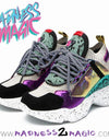 Multi Printed 'Madness' M2M Sneaker - Madness 2 Magic -Kicks