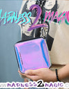 Holographic 'I Love Love' M2M Wallet - Madness 2 Magic -Accessories