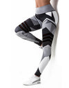 'Booty Heart' Womens Fitness Leggings Designer - Madness 2 Magic -Fitness