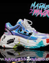 Holographic 'Grow Up' M2M Sneakers - Madness 2 Magic -Kicks