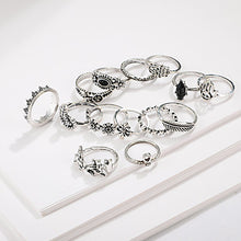 Load image into Gallery viewer, Women's Ring Set 14pcs