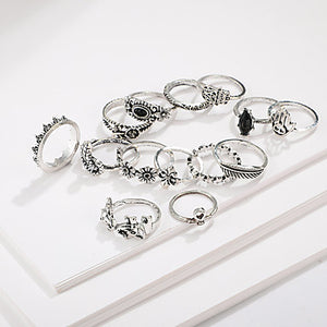 Women's Ring Set 14pcs
