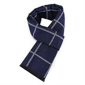 Men's Key Geometric Scarf